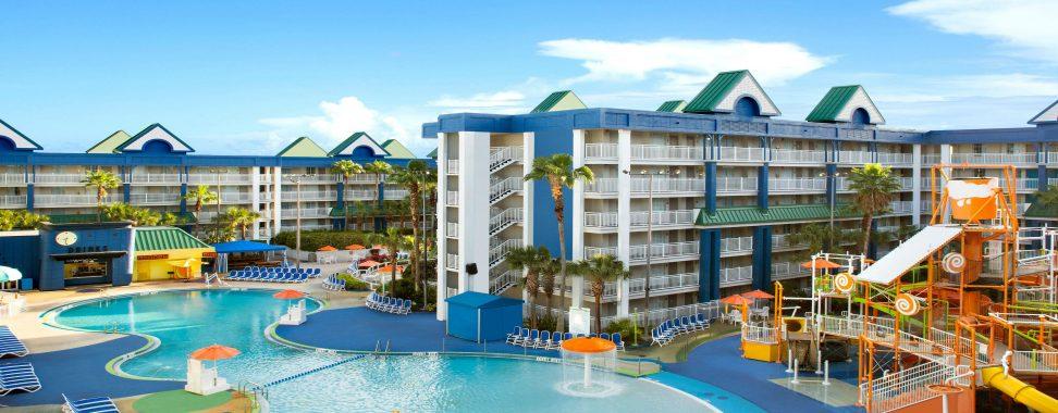 Nickelodeon Suites Resort, holiday inn resort orlando suites, hotel water parks, florida hotels, flstay.com, priceline,